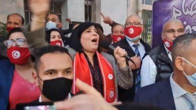 Photo of شاهد: خيبة جديدة لرئيسة الحزب الدستوري الحر عبير موسي