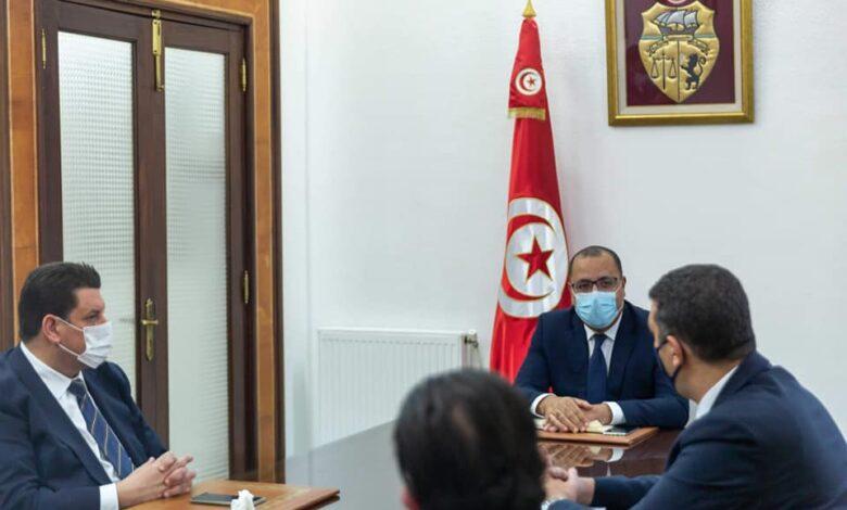 هشام المشيشي يجتمع برؤساء الكتل الداعمة للحكومة