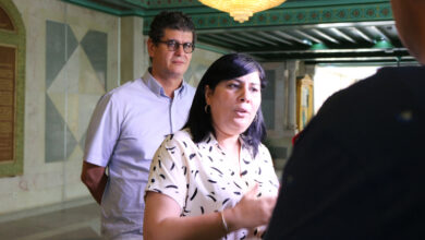 "Photo of عبير موسي ""غاضبة جدا"" بعد رفض السفير الأمريكي لقاءها"