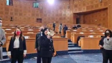 Photo of شاهد: عبير موسي تقتحم البرلمان وتثير حالة من البلبلة والفوضى