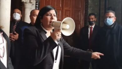 Photo of شاهد: اجراءات ردعية ضد همجية وعربدة رئيسة الحزب الدستوري الحرّ عبير موسي