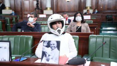 Photo of اطلالة عبير موسي الغريبة تثير موجة من السخرية على مواقع التواصل