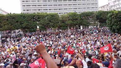 Photo of وسط حضور الالاف.. وقفة احتجاجية تنديدا بالإجراءات الاستثنائية